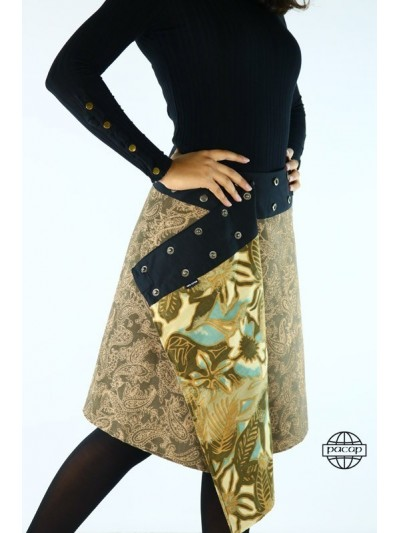 """Skirt """"Long"""" Woman Textured..."""