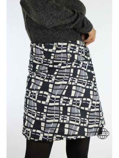 """Line Skirt """"Average"""" Velvet..."""