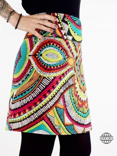 African Skirt Velours...