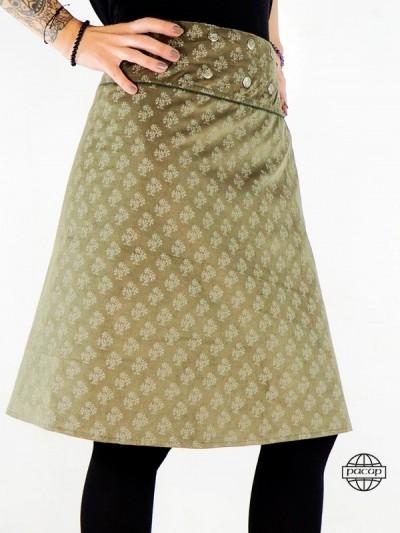 "Winter Skirt ""Long"" Printed..."
