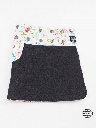 Child Reversible Skirt Jean...