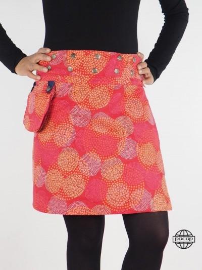 Skirt Woman Reversible Jean...