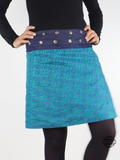"Skirt ""Long"" or ""Midi"" Blue..."