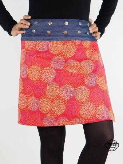"""Reversible Skirt """"2 Längen""""..."""