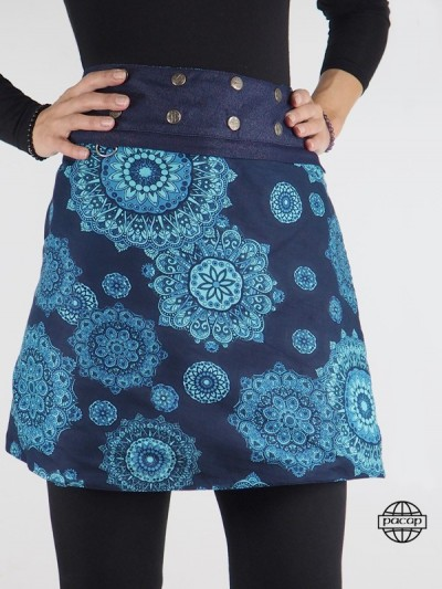 Reversible Skirt Jeans Blue...
