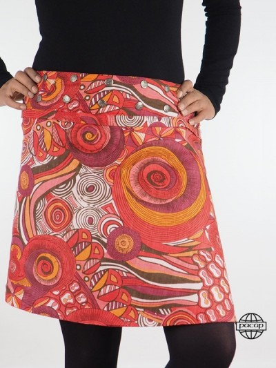 "Skirt ""2 lengths"" Ethnic..."