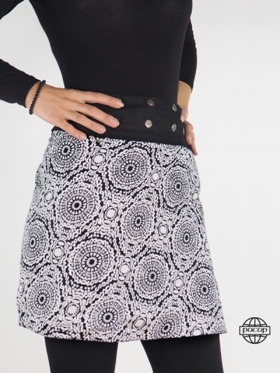 "Skirt Black Zip ""2 lengths""..."