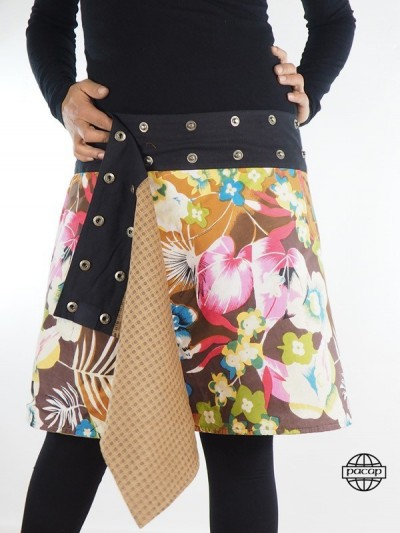 "Skirt ""Midi"" Reversible..."