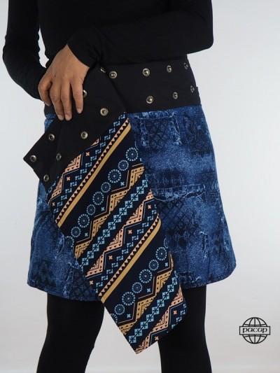 """Skirt Woman """"Midi"""" Velvet..."""