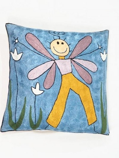 Cushion Embroidered...