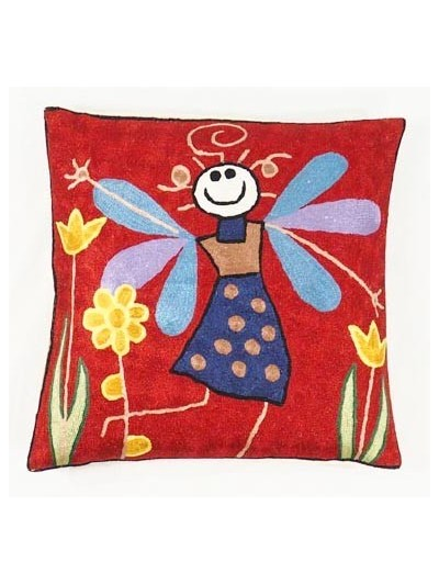 Cushion Embroidered - 03