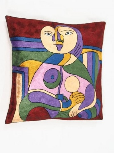 Cushion Embroidered - 05
