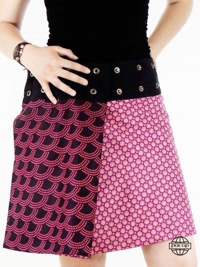 Skirt Cotton 2 in 1 Rose...