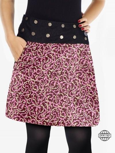 """Reversible Jeans Skirt """"2..."""