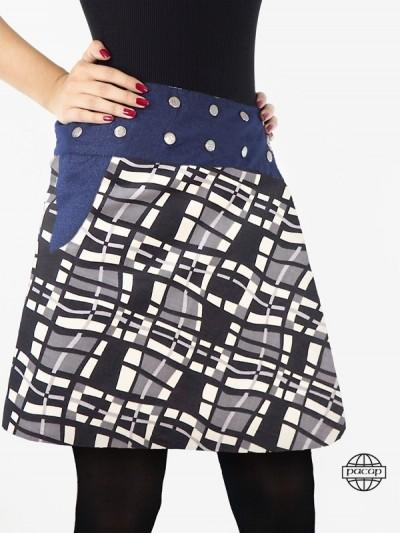 Skirt Pockets Reversible...