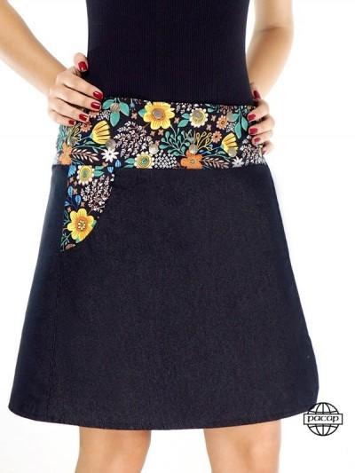 """Skirt """"2 Längen"""" Large Size..."""