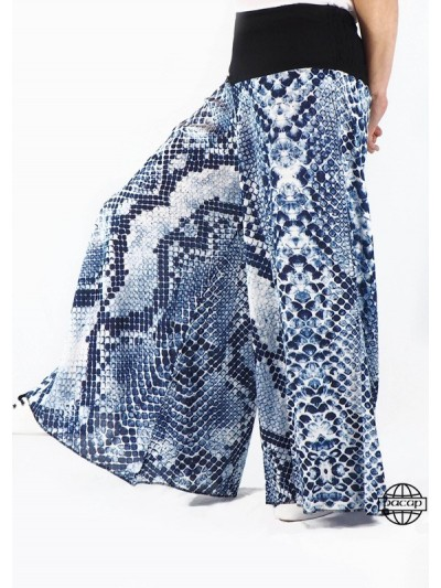 Pantalon Yoga Ample Bleu...