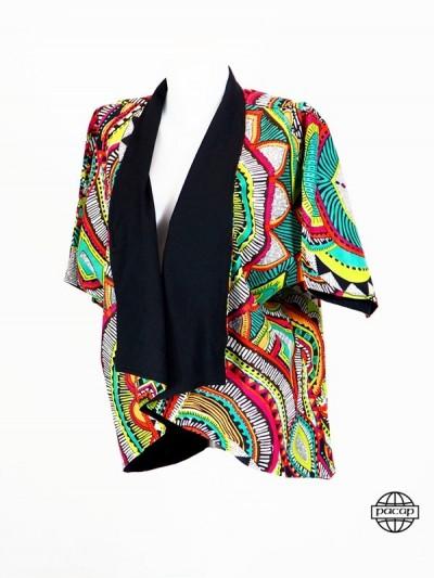 veste kimono, kimono femme, veste kimono wax, veste kimono femme chic, veste kimono africaine