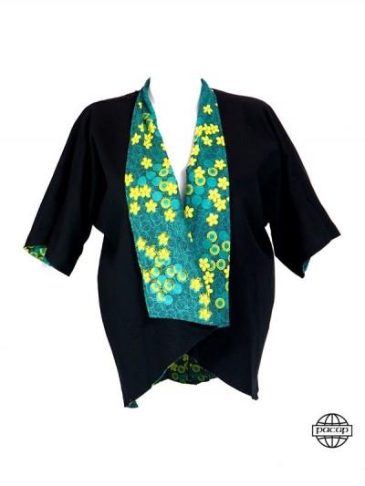 Veste Style Haut de Kimono...