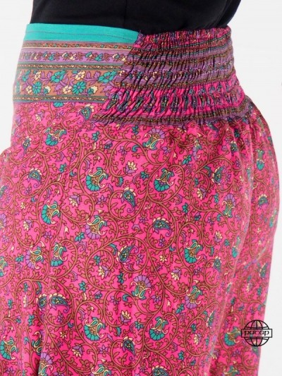 Pantalon Sari Ample Soie...
