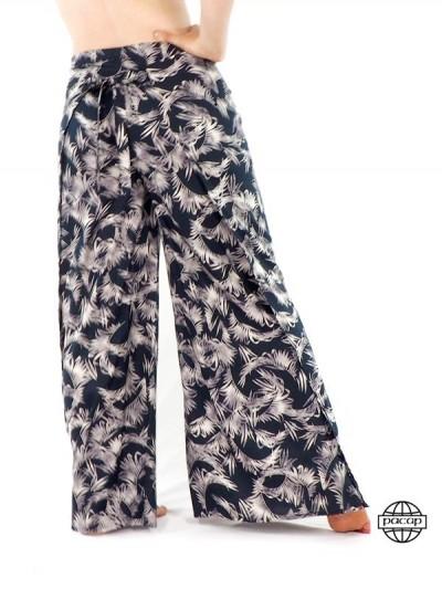 Pantalon Large Large Größe...