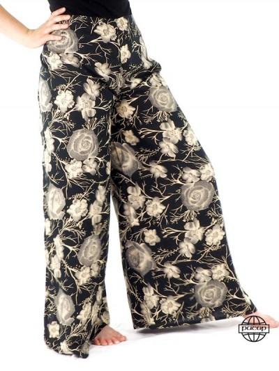 Pantalon Large taille...