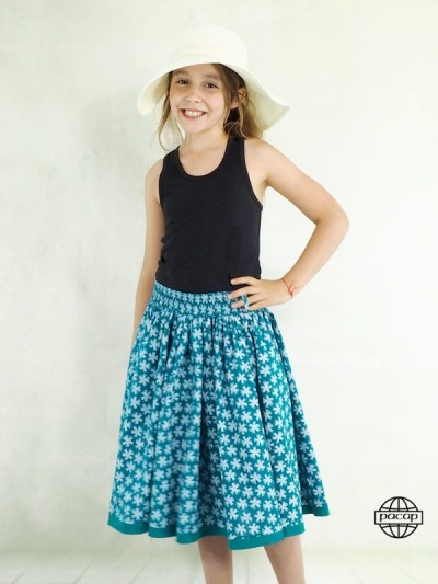 Skirt Summer Longue Green...