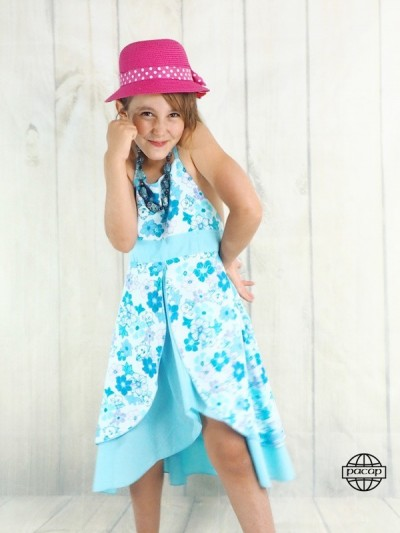 Dress Long Blue Été Petite...