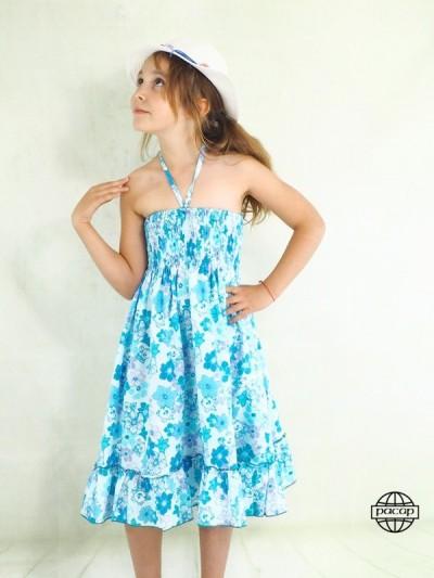Summer Skirt Blue Fillette...