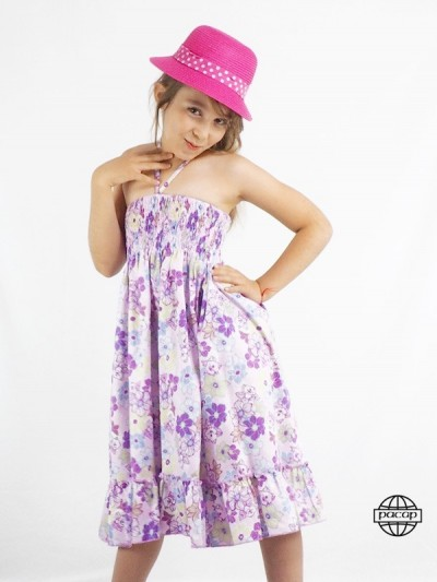 Jupe Robe in Smocks Kinder...