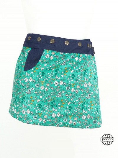 Skirt Jean Child Reversible...