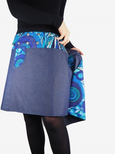 Skirt Jean Coupe Portfolio...