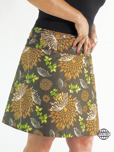 Skirt Woman Mi-Longue...