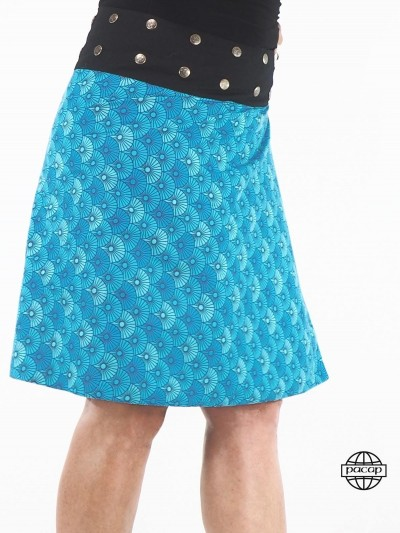 Blue Skirt Long and...