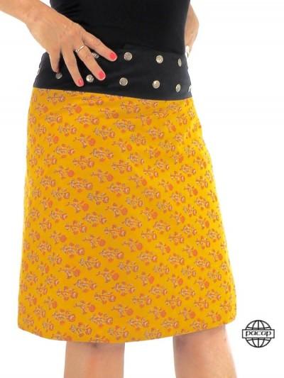 Yellow Skirt Long Portfolio...