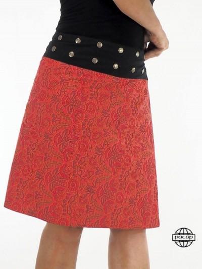 Skirt Long Red Skate