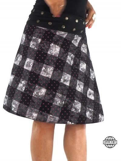 Skirt Black Longue...