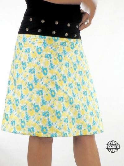 Hawaiian skirt Long Trapeze