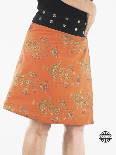 Skirt Long Multicolore...