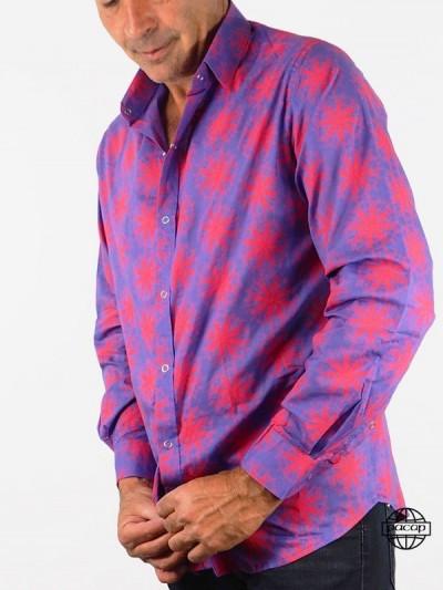 Shirt Dressed Mauve...