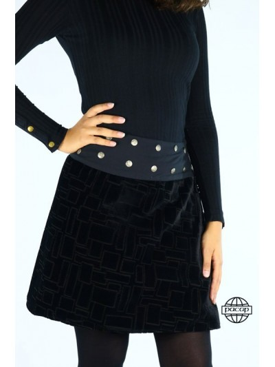 COLLECTOR-Skirt Long Black...