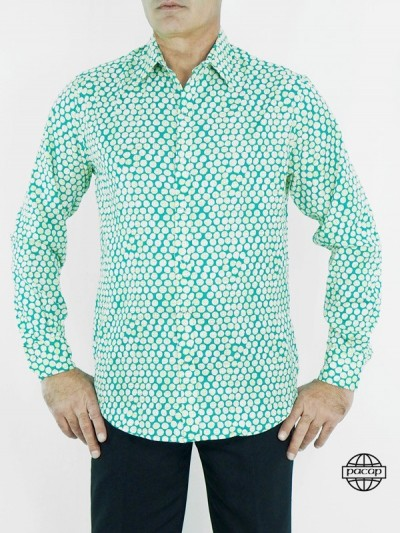 Shirt Verte Man in...