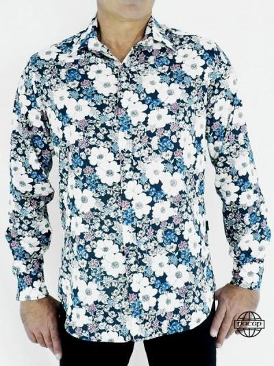Hawaiian Shirt Blue...