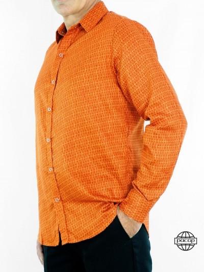 Chemise Classique Orange...