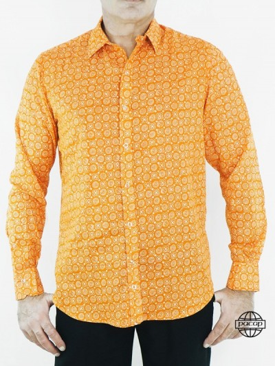 Chemise Orange Originale...