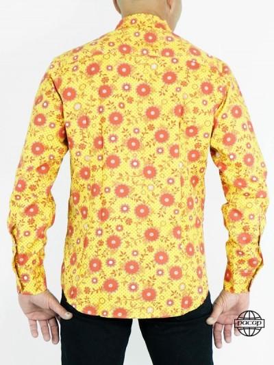 Italian Shirt Yellow to...