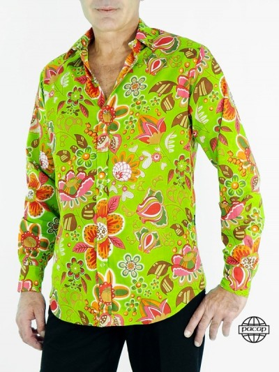 Hawaiian Verte Shirt in...
