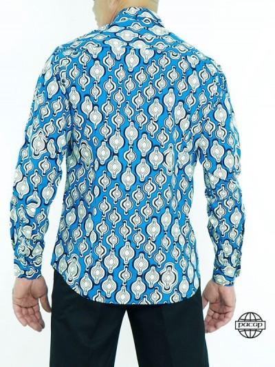 Blue African Shirt-ELI