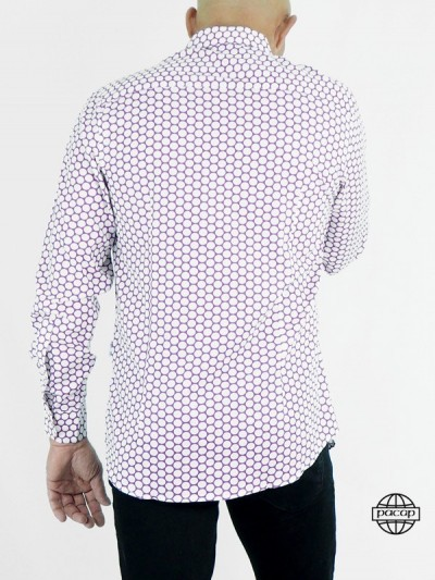 Homme Mauve in Pois...