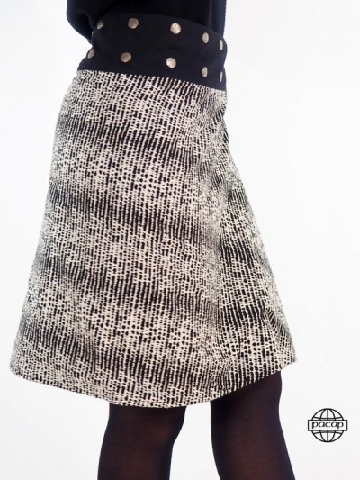 Skirt Longue en Velours...